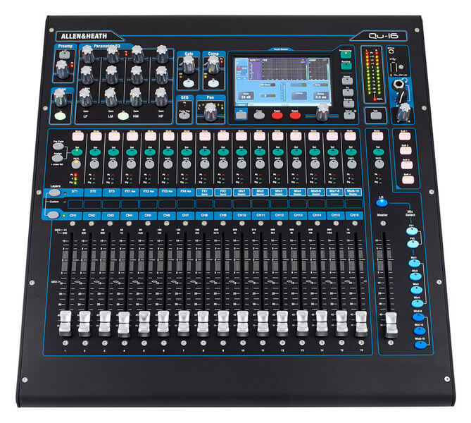 Allen & Heath Qu-16 Chrome Edition
